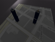 Rstar towers on map layout