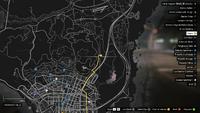 Vehicle Export Specialist GTAO Madrazo Map