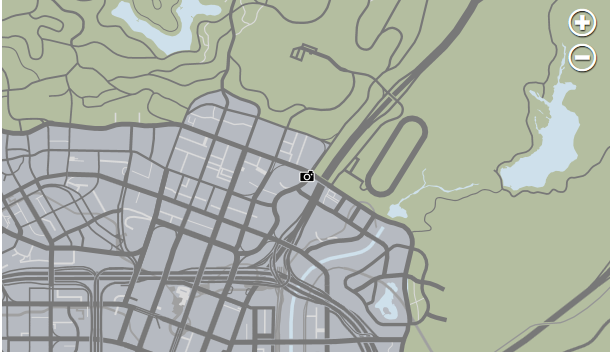File:LSPD Vinewood GTAV Map.png