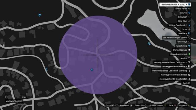 File:Distract Cops GTAO Map Vinewood Hills.png