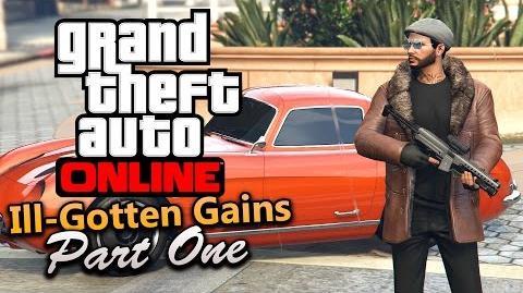 GTA Online - Ill-Gotten Gains Part 1 All DLC Contents