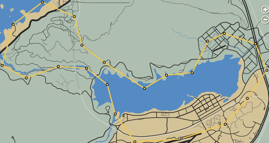 Lazer Quest GTAO Race Map