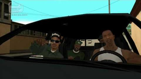GTA San Andreas - Walkthrough - Mission 5 - Drive-thru (HD)