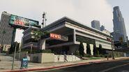 Weazel News Plaza