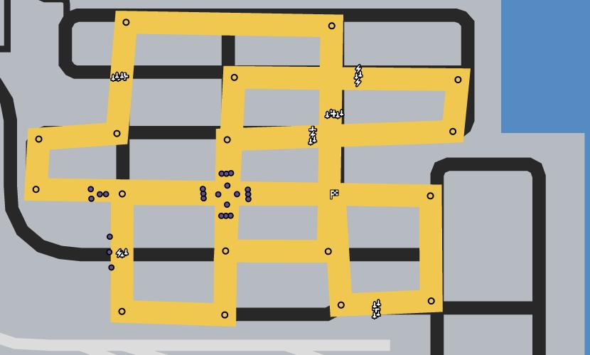 Criss Cross Dock Race GTAO Verified Map