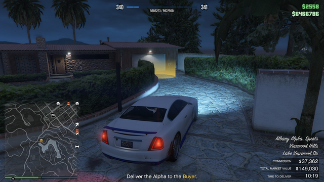 File:Vehicle Export Specialist GTAO Lake Vinewood Drive.png