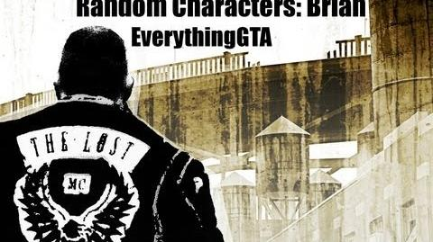 GTA The Lost and Damned Random Characters- Brian