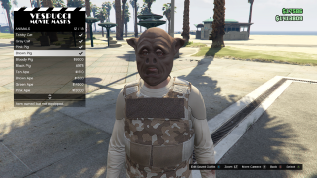File:GTAO-Animal-Brown Pig Mask.png