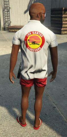 File:Lifeguard GTAVe Outfit White tee Red shorts Back.jpg