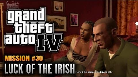 GTA 4 - Mission 30 - Luck of the Irish (1080p)