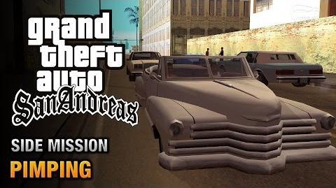 GTA San Andreas - Pimping