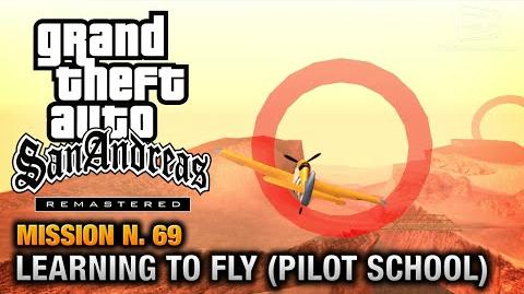 GTA San Andreas Remastered - Mission 69 - Learning to Fly Pilot School Gold Medals (X360 PS3)