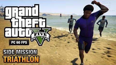 GTA 5 PC - Triathlons Gold Medal Walkthrough