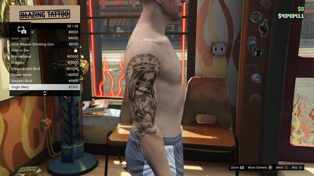 File:Tattoo GTAV Online Male Right Arrm Virgin Mary.jpg
