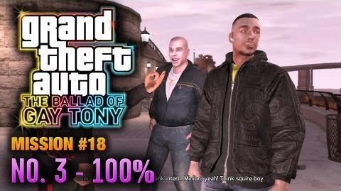 GTA The Ballad of Gay Tony - Mission 18 - No