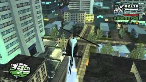 GTA San Andreas get Police Maverick