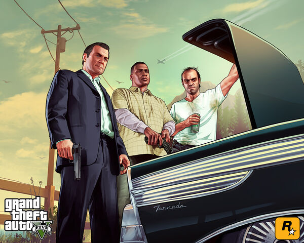 File:Artwork-Protagonists&Tornado-GTA5.jpg