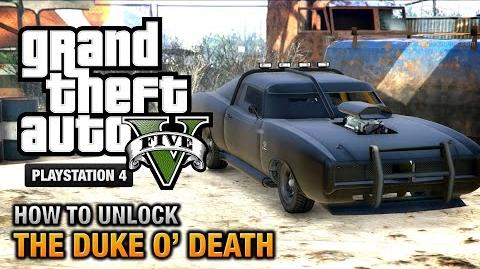 GTA 5 - How to unlock the Duke O' Death PS4 & Xbox One