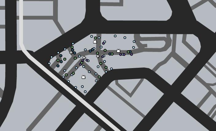 Chamberlain Hills Deathmatch GTAO Map