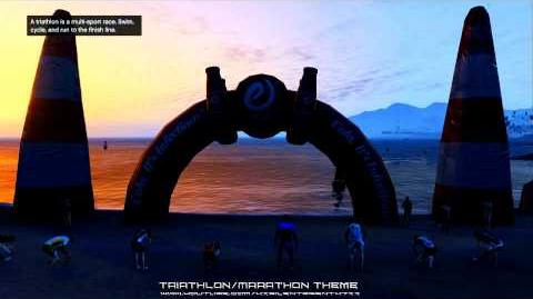 Grand Theft Auto GTA - Triathlon Marathon Exercising Demons Music Theme