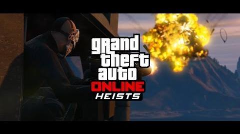 GTA Online Heists TV Spot
