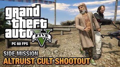 GTA 5 PC - Altruist Cult Shootout Altruist Acolyte Achievement Trophy
