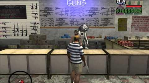 GTA San Andreas INFINITE AMMO GLITCH