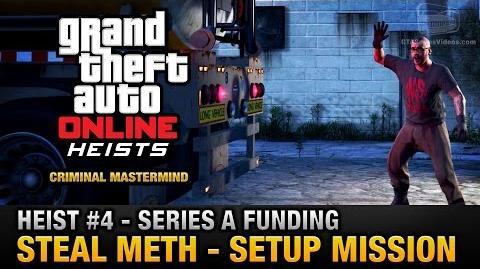 GTA Online Heist 4 - Series A Funding - Steal Meth (Criminal Mastermind)