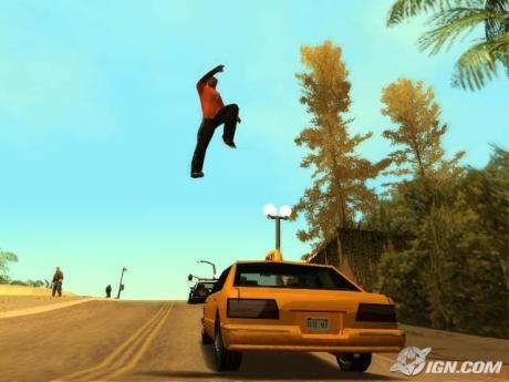 File:CarlJohnson-GTASA-JumpingOntoTaxi.jpg