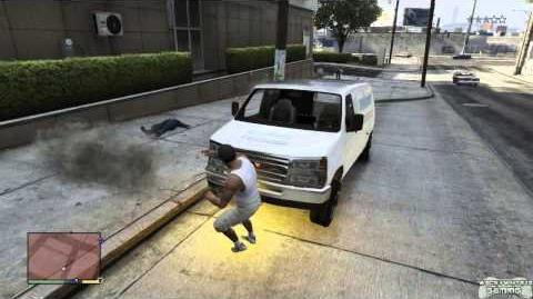 GTA 5 - Explosive Melee Cheat