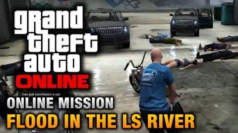 GTA Online - Mission - Flood in the LS River Hard Difficulty