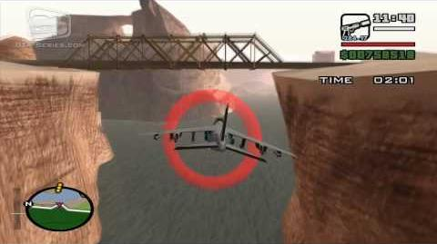 GTA San Andreas - Walkthrough - Air Race - Military Service (HD)