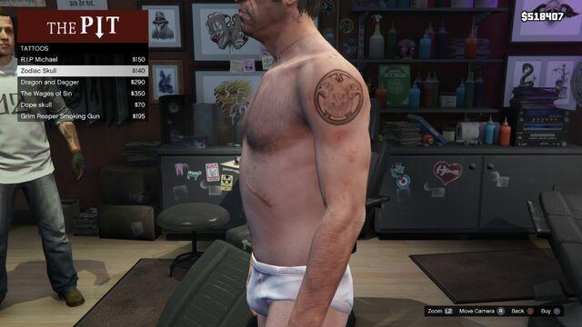 File:Tattoo Trevor Left Arm GTAV Zodiac Skull.jpg