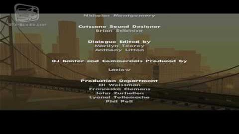 GTA San Andreas - Closing Credits