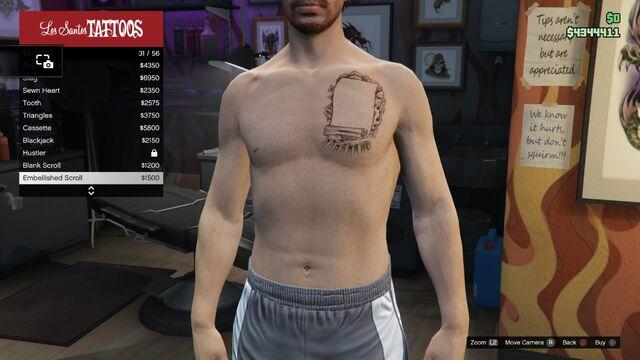 File:Tattoo GTAV Online Male Torso Embellished Scroll.jpg