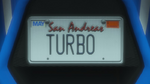 Custom Plate GTAO TURBO
