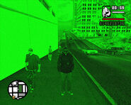Night vision goggles (GTASA) (in use)