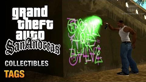 GTA San Andreas - Tags