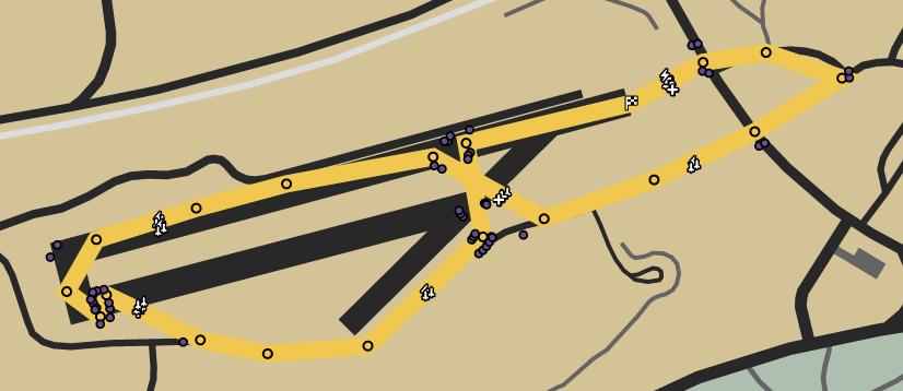 Desert Test Track 4x4 GTAO Verified Map