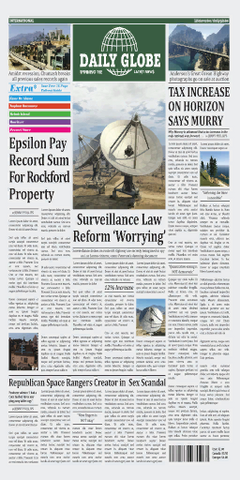File:Daily Globe Newspaper Frontpage GTAV.png