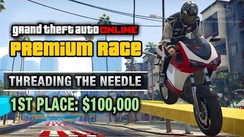 GTA Online - Premium Race 16 - Threading The Needle (Cunning Stunts)