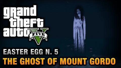 GTA 5 - Easter Egg 5 - The Ghost of Mount Gordo
