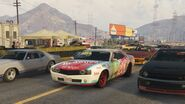 Stock Car Race GTAVe Race2 Start Grid