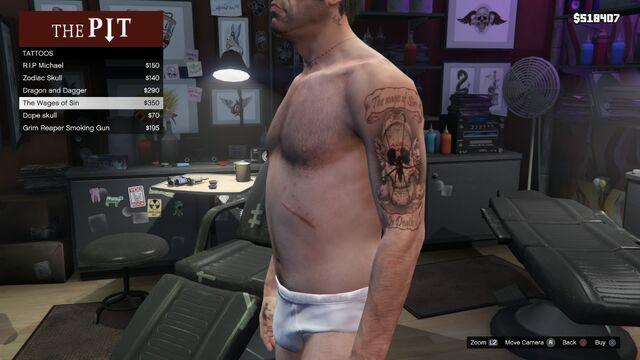 File:Tattoo Trevor Left Arm GTAV The Wages of Sin.jpg