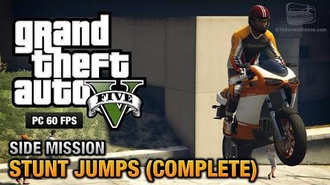 Stunt Jumps in GTA V