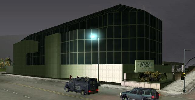 File:CarsonGeneralHospital-GTA3-northeastwards.jpg