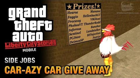 GTA Liberty City Stories Mobile - Car-Azy Give Away (Love Media Import-Export)