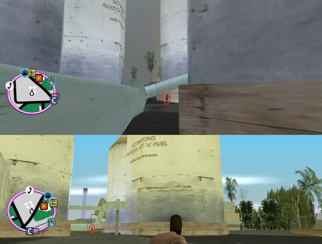 File:GTAVC HiddenPack 79 Under center pipe in 4 jet fuel tank farm..png