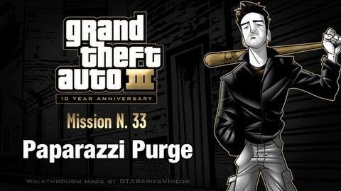 GTA 3 - iPad Walkthrough - Mission 33 - Paparazzi Purge