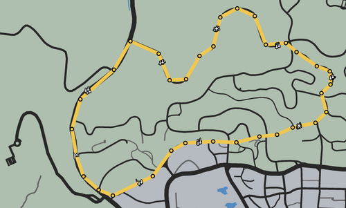 Learning Curve GTAO Race Map